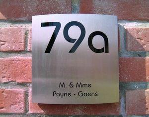 PLAQUES ET NUMÉROS -  - House Number