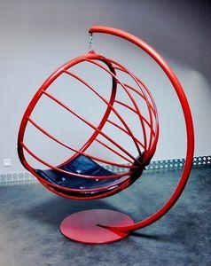 TST Mobilier - crysalid acier - Hanging Armchair