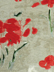 Paule Marrot Editions - coquelicots - Fabric For Exteriors