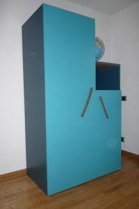 Mie Trampoline - armoire ligne pure - Children's Wardrobe