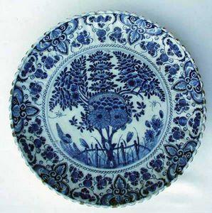 Antiquités Eric de Brégeot -  - Round Dish
