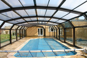 Telescopic Pool Enclosures -  - Freestanding Pool Enclosure