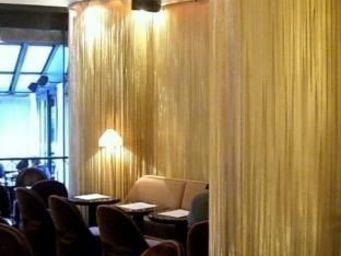 FOIN COTTE DE MAILLES - panneau a franges - String Curtain