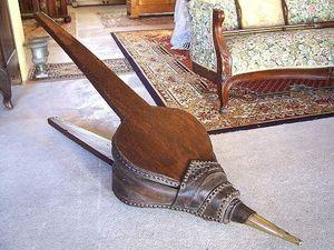 Le Grenier de Matignon - soufflet de forge de la fin du xixe siecle - Bellows