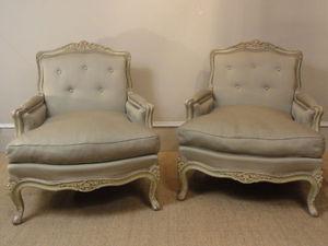 PELAZZO LEXCELLENT ANTIQUITES - louis xv bergères - Marquise Chair