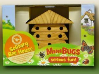 Wildlife world - minibug solitary bee house - Educational Games