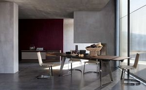 ROCHE BOBOIS - echoes - Rectangular Dining Table
