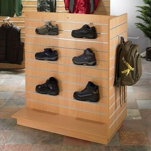 Eureka Display - t shaped gondola display unit - Display Shelf