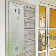 Safety Letter Box - door entry systems - Intercom