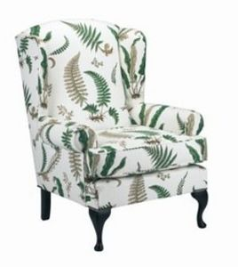 The English House - queen anne - Armchair With Headrest