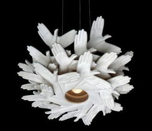 PLANKTON avant garde design - bird in hand - Hanging Lamp