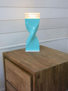 ATELIERS TORSADES - helico - Table Lamp