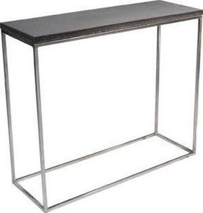 Mathi Design - console béton & inox - Console Table