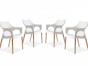 BELIANI - natural ola - Chair