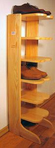 ECHOS Furniture - droit blanc - Shoe Hanger