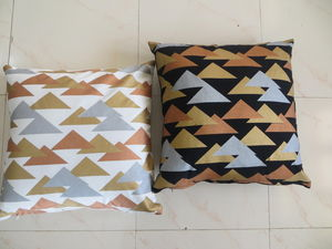 ITI  - Indian Textile Innovation - metallic - Cushion Cover
