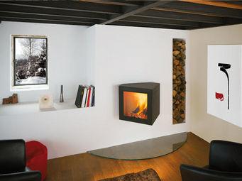 Focus - cubifocus bois - Closed Fireplace