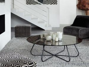 Ph Collection - nassau glass - Round Coffee Table