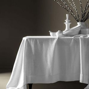 BLANC CERISE - delices de lin-- - Rectangular Tablecloth