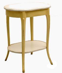 Marie France - camélia - Pedestal Table