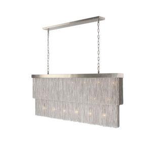 ALAN MIZRAHI LIGHTING - chain7075 chain rectangular slim - Chandelier