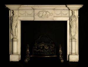 Adrian Alan -  - Fireplace Mantel