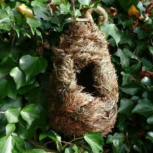 Wildlife world - roosting nest pocket - tall - Birdhouse