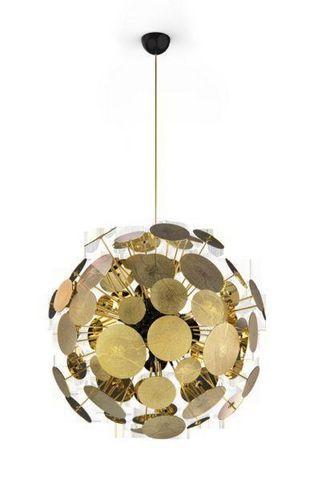 BOCA DO LOBO - Ceiling lamp-BOCA DO LOBO-Newton Suspension