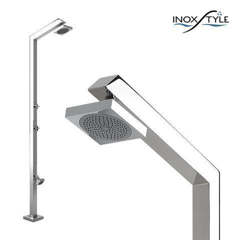 INOXSTYLE - Outdoor shower-INOXSTYLE-Tecno Cube L Zoe