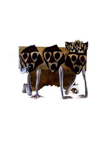 EGLIDESIGN - Side table-EGLIDESIGN-Three kings