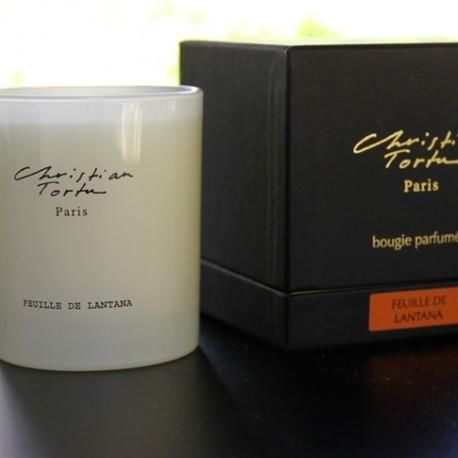 Christian Tortu Bougies - Scented candle-Christian Tortu Bougies-Christian Tortu - Feuilles de lantana
