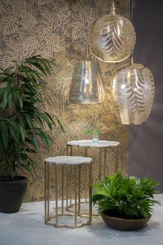 ZENZA - Suspended ceiling lighting-ZENZA-Gold Tropic Ball Trophy