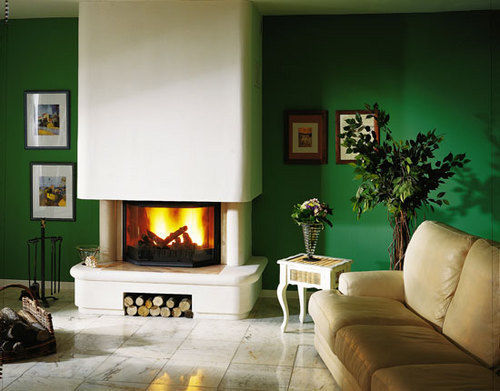 Cuisines et Cheminees Philippe - Open fireplace-Cuisines et Cheminees Philippe-Caucourt