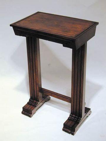 BAGGOTT CHURCH STREET - Cabinet-BAGGOTT CHURCH STREET-Regency Rosewood Quartetto Tables