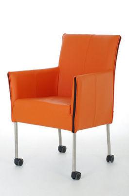 Dutch-Dsign - Swivel armchair-Dutch-Dsign-limburg-orange