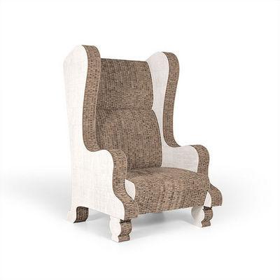 Corvasce Design - Armchair-Corvasce Design-Poltrona Bergère