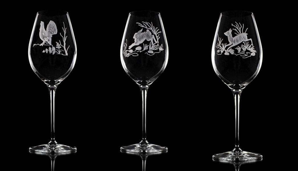 CRISTAL LEHRER Stielglas Gläser Glaswaren  |