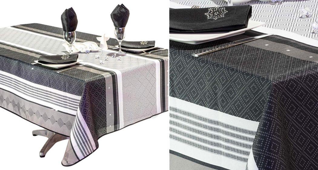 VILLAGES DE PROVENCE Anti-Flecken-Tischdecke Tischdecken Tischwäsche  |