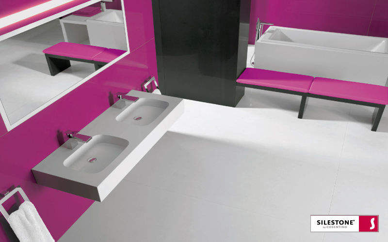 SILESTONE COSENTINO Badezimmer |