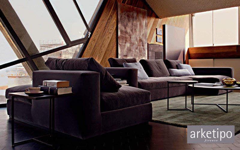 Arketipo Variables Sofa Sofas Sitze & Sofas Wohnzimmer-Bar | Design Modern