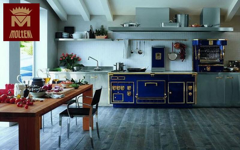 Fourneaux Molteni Profi-Gasherd Küchenherde Küchenausstattung  |