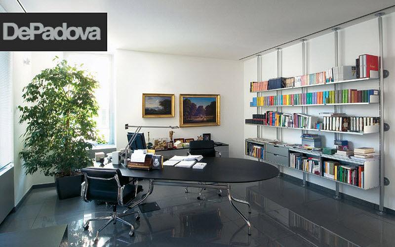 DE PADOVA Direktionsschreibtisch Schreibtische & Tische Büro Arbeitsplatz | Design Modern