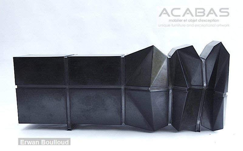 ACABAS Anrichte Truhen Anrichten Regale & Schränke Wohnzimmer-Bar | Unkonventionell