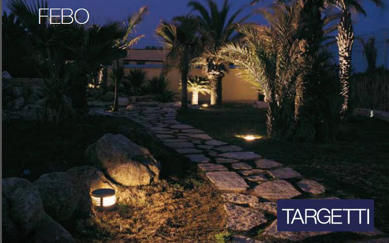 Targetti Leuchtpfosten Bodenbeleuchtungen Außenleuchten  |