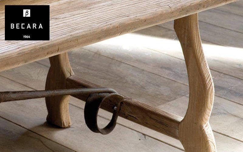 BECARA Rechteckiger Esstisch Esstische Tisch  |