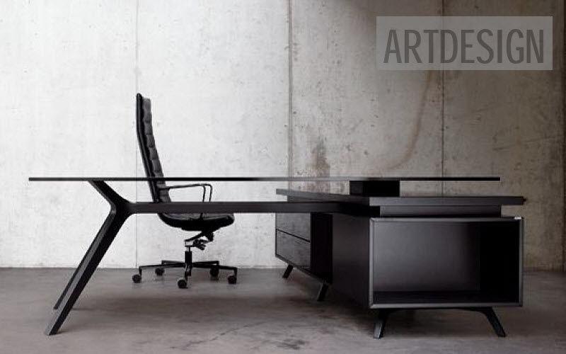 ARTDESIGN Direktionsschreibtisch Schreibtische & Tische Büro Arbeitsplatz  
