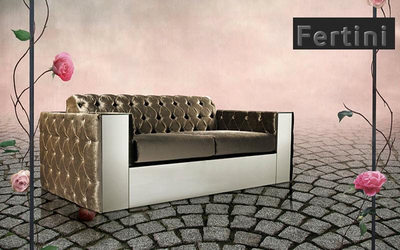 Fertini Sofa 2-Sitzer Sofas Sitze & Sofas  | Unkonventionell