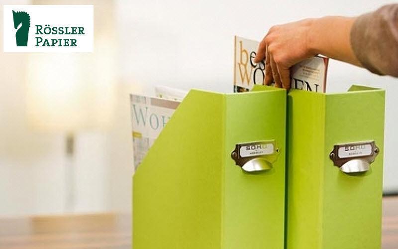 RÖSSLER PAPIER Archivierungskarton Boxen und Aktenordner Büro Büro | Design Modern