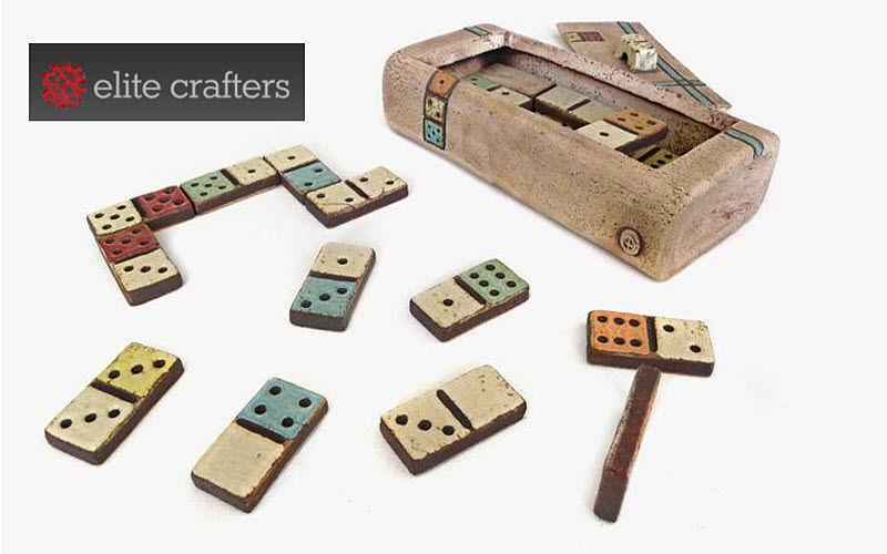 ELITE CRAFTERS Domino Gesellschaftsspiele Spiele & Spielzeuge  |