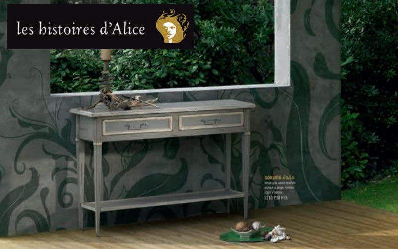 LES HISTOIRES D'ALICE Konsole mit Schublade Konsolen Tisch  |